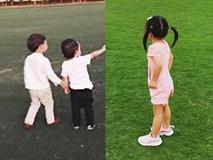 Nhóc tỳ nhà Hà Tăng với style đối lập: Con gái có tủ đồ toàn hồng, con trai chỉ diện đồ đen trắng tối giản