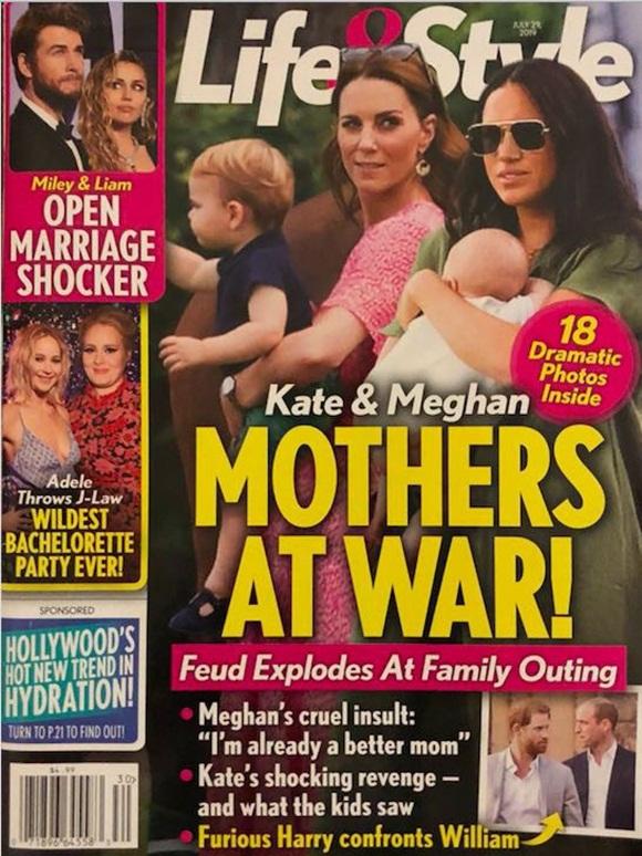 Thực hư chuyện Meghan Markle mắng mỏ chị dâu không biết cách làm mẹ khiến Công nương Kate ôm hận trong lòng-1