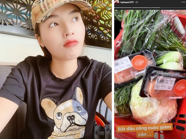 Chuyện giảm cân 70% ăn - 30% tập của sao Việt: Nhã Phương ăn toàn rau xanh, Ngọc Trinh uống nước ép tiêu mỡ-2