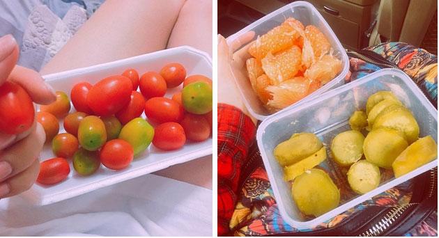 Chuyện giảm cân 70% ăn - 30% tập của sao Việt: Nhã Phương ăn toàn rau xanh, Ngọc Trinh uống nước ép tiêu mỡ-12