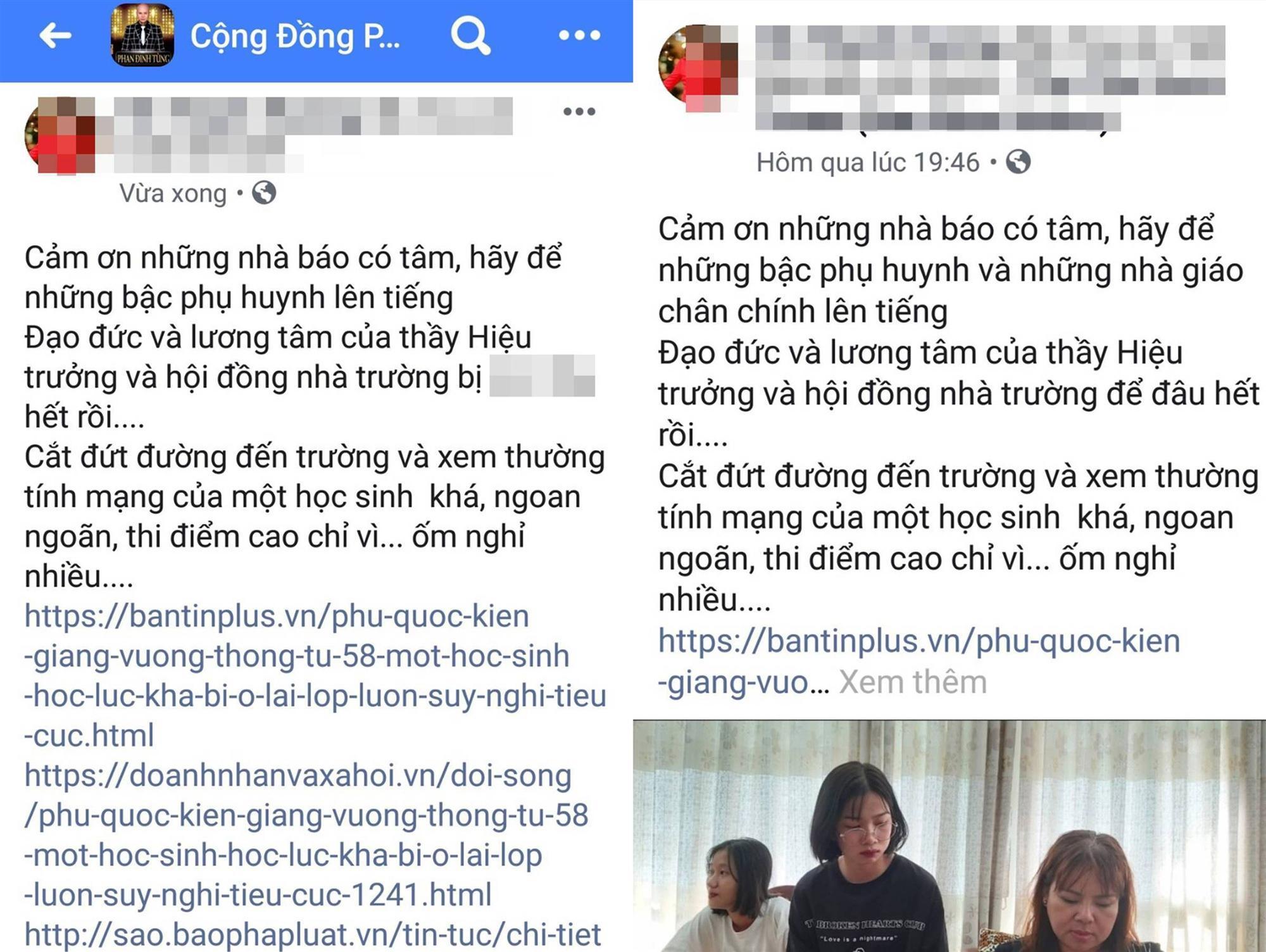Xúc phạm hiệu trưởng vì con gái lưu ban, nữ doanh nhân sẽ xin lỗi sau chuyến từ thiện ở Côn Đảo-1