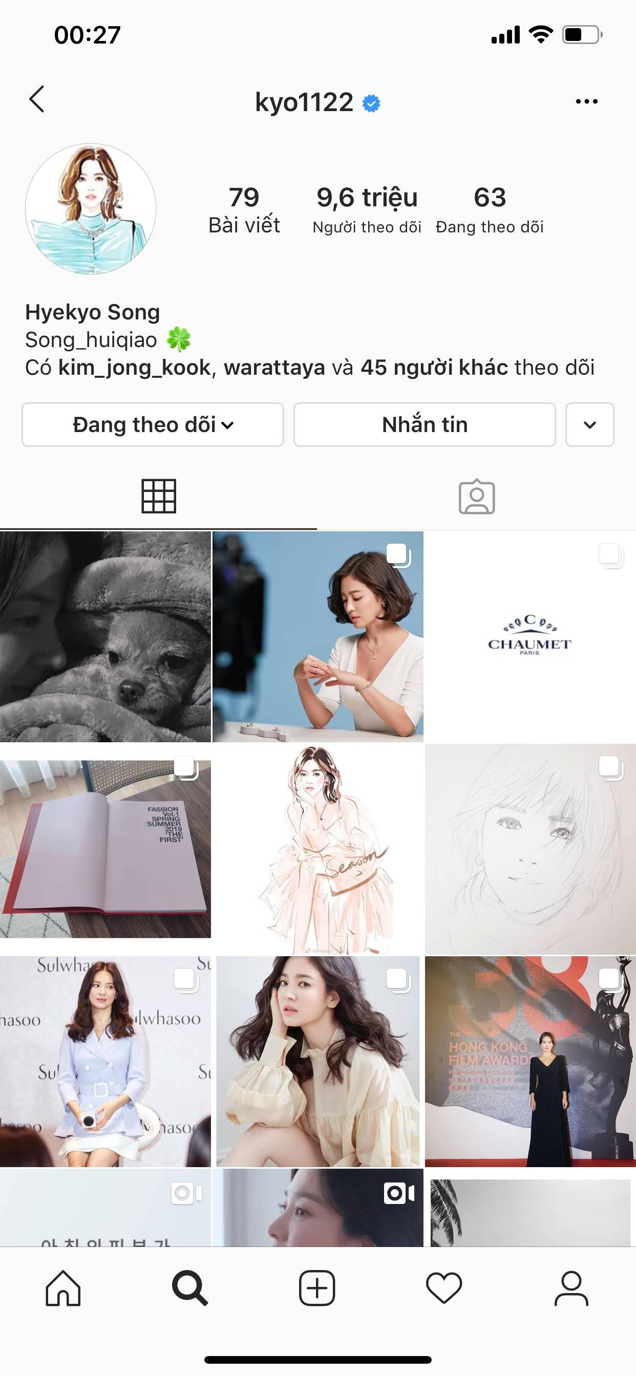 Chính thức ly dị, Song Hye Kyo đã có động thái đầu tiên: Khai tử ảnh cưới, toàn bộ dấu vết về chồng trên Instagram-1