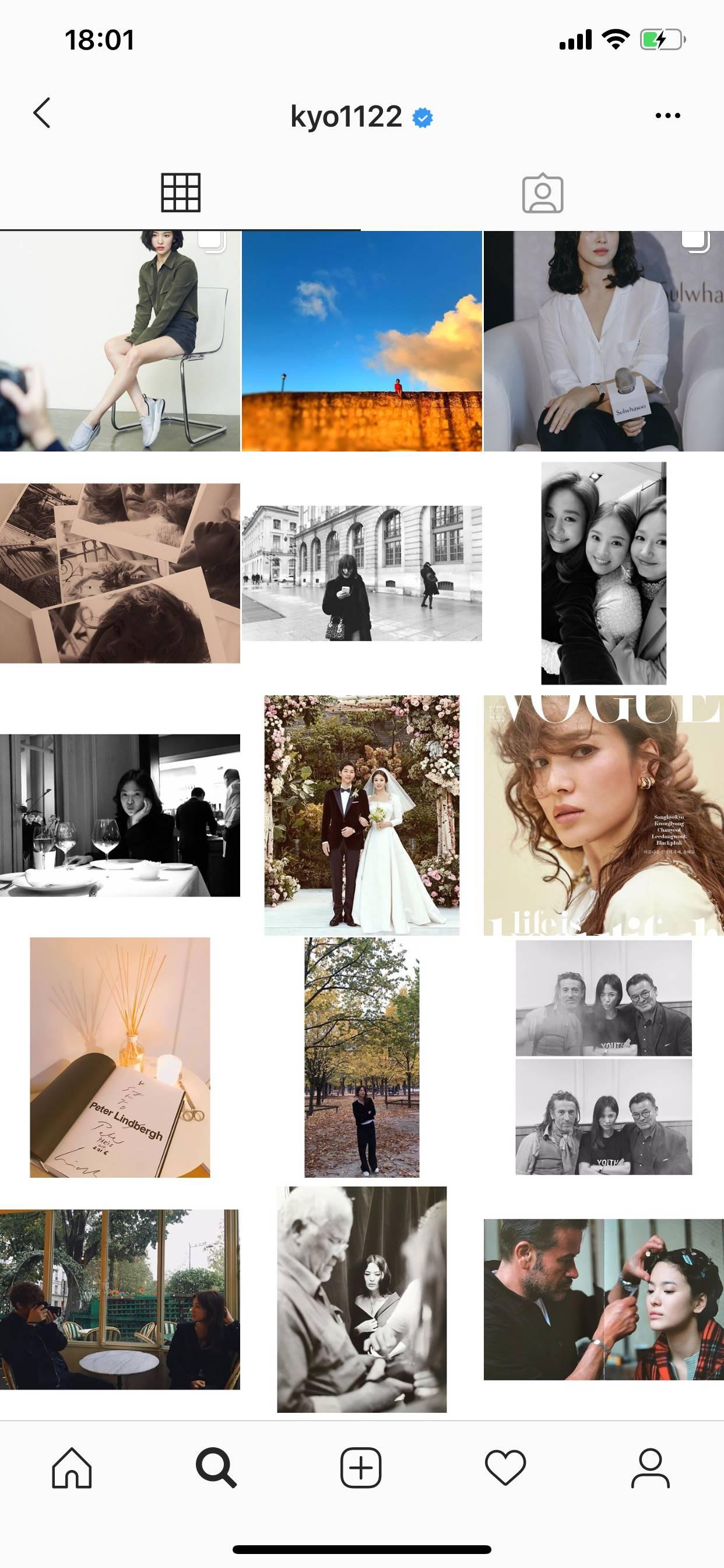 Chính thức ly dị, Song Hye Kyo đã có động thái đầu tiên: Khai tử ảnh cưới, toàn bộ dấu vết về chồng trên Instagram-3