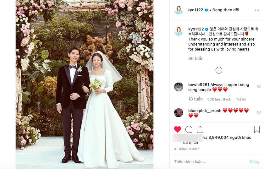 Chính thức ly dị, Song Hye Kyo đã có động thái đầu tiên: Khai tử ảnh cưới, toàn bộ dấu vết về chồng trên Instagram-4