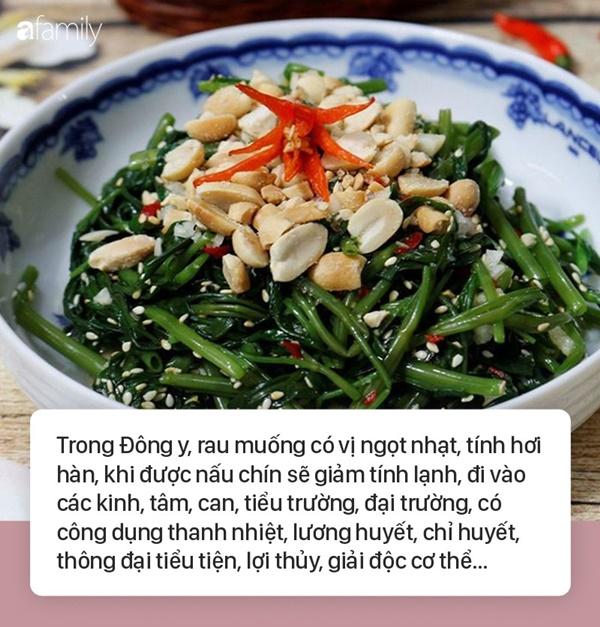Bỏ ngay 3 thói quen sai lầm này khi ăn rau muống nếu không muốn rước họa vào thân, hại sức khỏe-1