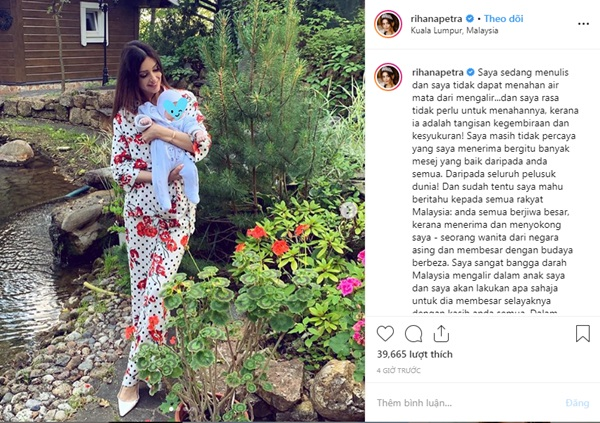 Người đẹp Nga đăng ảnh con trai vừa tròn 2 tháng tuổi, đáp trả khéo léo thông tin về xuất thân của đứa trẻ khiến người dùng mạng ủng hộ ầm ầm-2