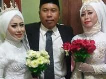 Đám cưới 1 chú rể 2 cô dâu khiến dân mạng choáng váng và sự thật ngỡ ngàng phía sau