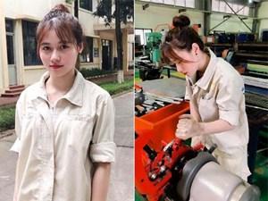 Nữ sinh trường kỹ thuật được gọi là động lực tới trường của hội anh em