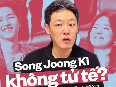 HOT: Nguồn tin nội bộ tiết lộ Song Hye Kyo là người chủ động đề nghị ly hôn nhưng Song Joong Ki lại
