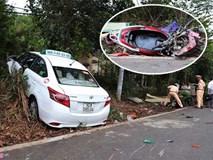 Taxi Vinasun vượt ẩu tông xe máy làm 2 bà cháu thiệt mạng