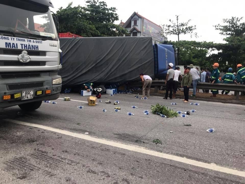 Hiện trường vụ tai nạn 5 người bị xe tải đè chết ở Hải Dương-2
