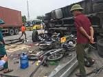 Giây phút xe tải lật đè nhóm người chờ sang đường: Các nạn nhân chỉ kịp hét lên vài tiếng là bị đè chết, hãi hùng lắm-6