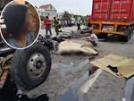 Clip cận cảnh giây phút xe tải đâm vào dòng người đợi sang đường khiến 5 người chết tại chỗ-2