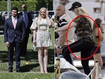 Con gái Tổng thống Trump xuất hiện cùng bạn trai tỷ phú hoàn hảo nhưng nhìn vóc dáng của cô nàng ai cũng phải lắc đầu ngán ngẩm