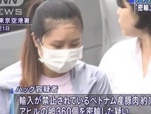Mang 10kg nem chua và 360 quả trứng vịt lộn vào Nhật Bản, nữ du học sinh Việt bị cảnh sát bắt và lên cả bản tin