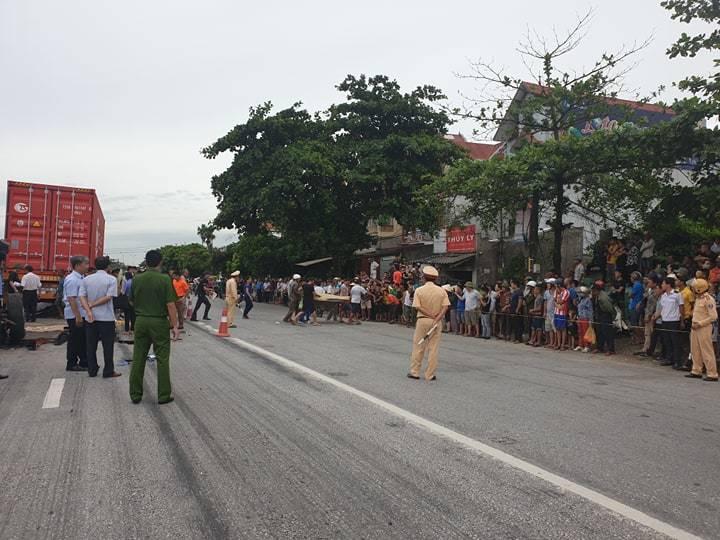Hiện trường vụ tai nạn 5 người bị xe tải đè chết ở Hải Dương-13