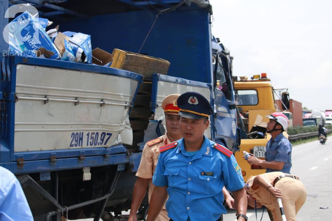 Nhân chứng kể lại vụ tai nạn thảm khốc ở Hải Dương: Tôi thấy bánh xe tải đè lên mặt 3 người, chết nhiều lắm-2
