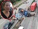 Người mẹ khóc ngất gọi tên nam sinh lớp 12 bị xe tải đè chết: Con tỉnh dậy về với mẹ đi mà!-11