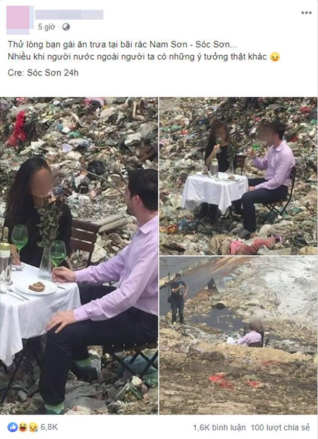 Buổi hẹn hò siêu sốc: Chàng trai thử thách bạn gái bằng cách mời ăn ở bãi rác, hội chị em khiếp vía tranh cãi nảy lửa-1