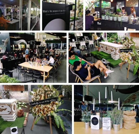Bên trong quán cà phê chết chóc ở Thái Lan: Khách tha hồ nằm trong quan tài cảm nhận cái chết, đi dạo quanh địa ngục, chụp ảnh với hài cốt-11