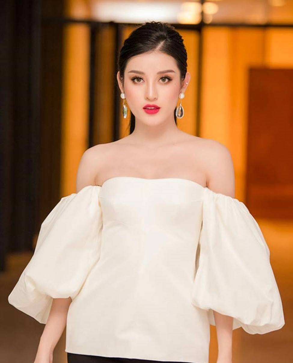 Váy trễ hút ánh nhìn của Chi Pu, Quỳnh búp bê...-7