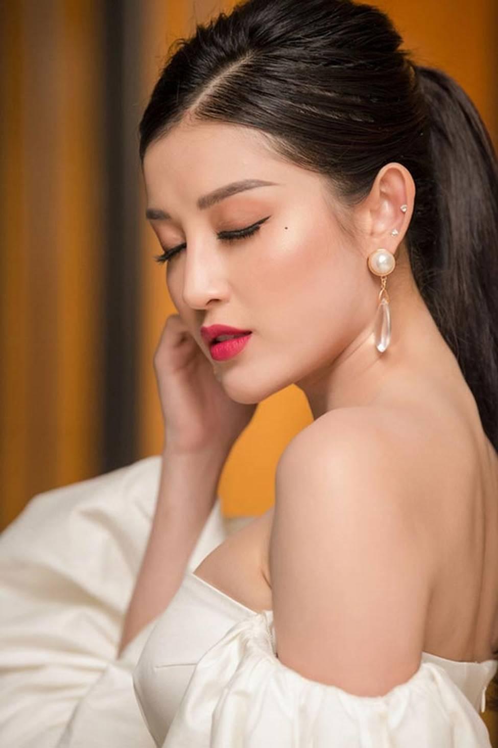 Váy trễ hút ánh nhìn của Chi Pu, Quỳnh búp bê...-8