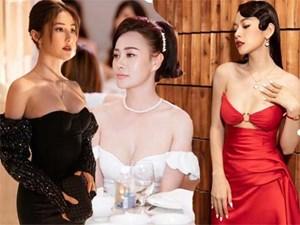 Váy trễ hút ánh nhìn của Chi Pu,