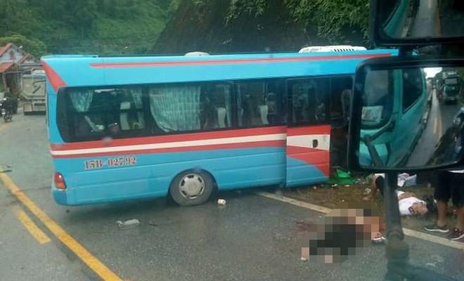 Vụ xe khách đâm xe đầu kéo ở Tuyên Quang: Nạn nhân là giáo viên Hải Phòng đi từ thiện-4