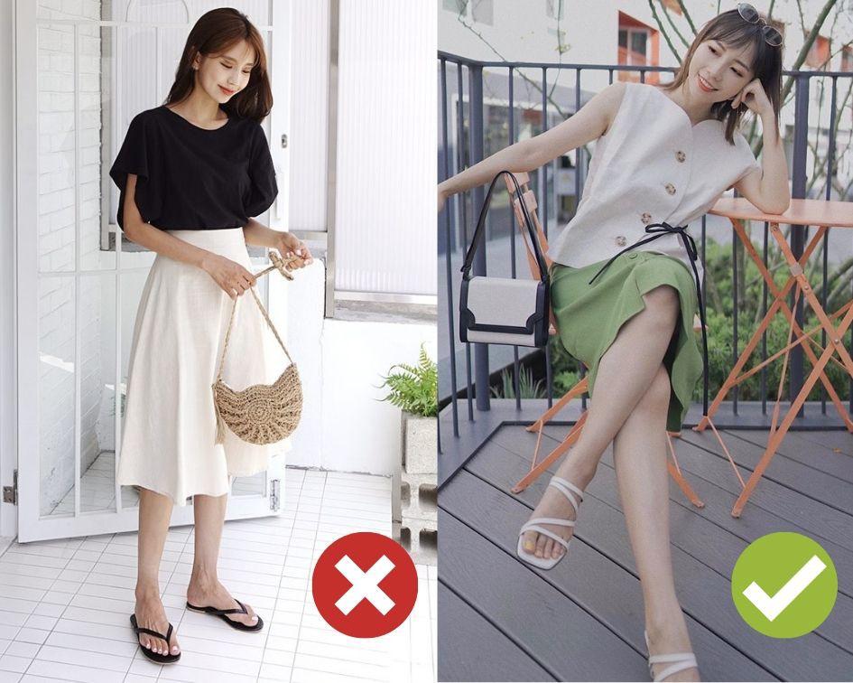Không phải bộ đôi chân váy + giày dép nào cũng ăn ý với nhau, nhưng bạn diện 4 công thức này thì dứt khoát đẹp-1