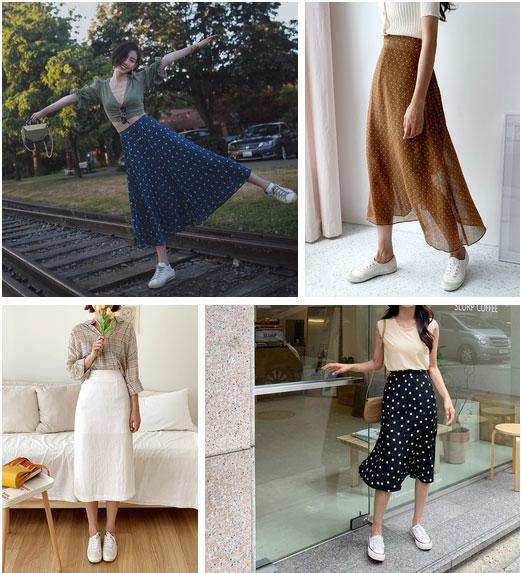 Không phải bộ đôi chân váy + giày dép nào cũng ăn ý với nhau, nhưng bạn diện 4 công thức này thì dứt khoát đẹp-3