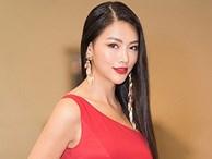 Hoa hậu Phương Khánh đẹp như nữ thần với đầm đỏ quyến rũ
