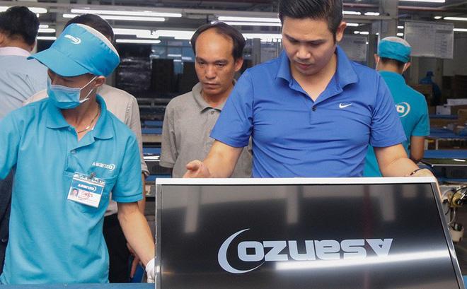 Khởi tố vụ công ty ma nhập hàng từ Trung Quốc gắn mác Asanzo-1