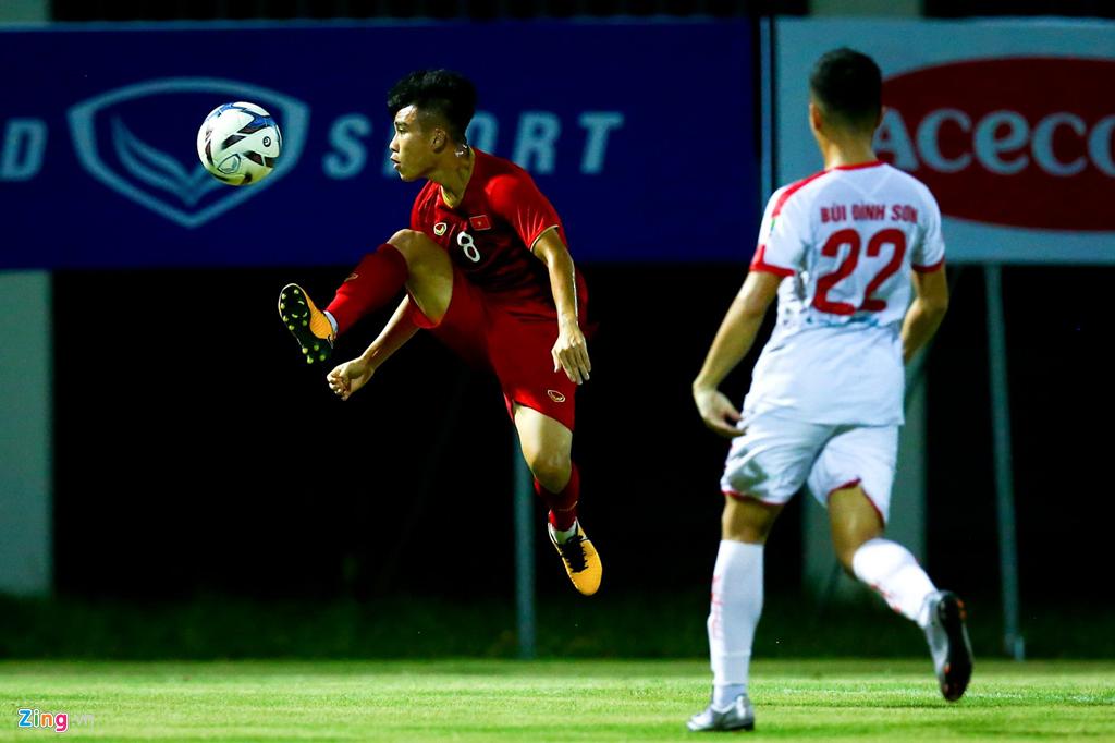 HLV Park phản ứng mạnh khi U23 Việt Nam không ghi bàn suốt 2 hiệp-4