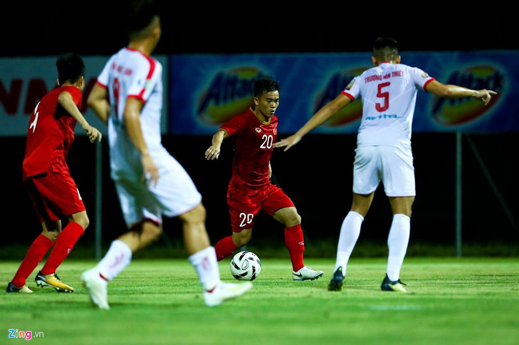 HLV Park phản ứng mạnh khi U23 Việt Nam không ghi bàn suốt 2 hiệp-8