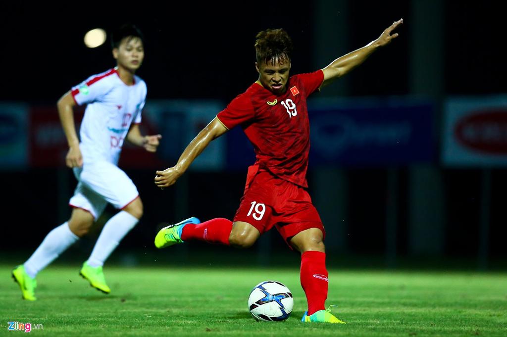 HLV Park phản ứng mạnh khi U23 Việt Nam không ghi bàn suốt 2 hiệp-9