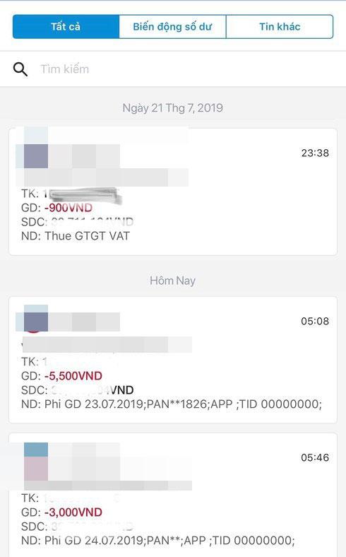 Sững sờ vì thẻ ATM đang bị ngân hàng tận thu quá nhiều loại phí-1