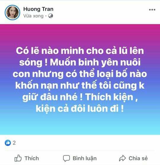 Vợ cũ Việt Anh nổi đóa, dọa cho cả lũ lên sóng giữa ồn ào chồng cũ muốn đưa con vào Sài Gòn sống-1