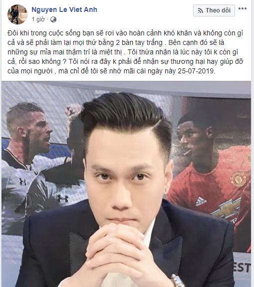 Vừa bị vợ cũ chửi xéo là loại bố khốn nạn, Việt Anh lên tiếng: Lúc này tôi không còn gì cả-2