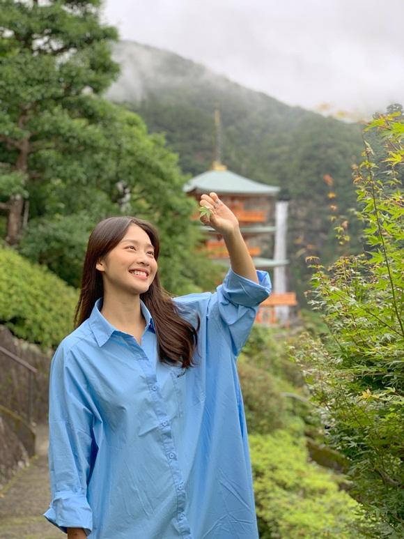 Khả Ngân khoe mặt mộc nhẹ nhàng vẫn được khen xinh như gái Nhật-5