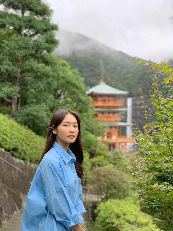 Khả Ngân khoe mặt mộc nhẹ nhàng vẫn được khen xinh như gái Nhật-6