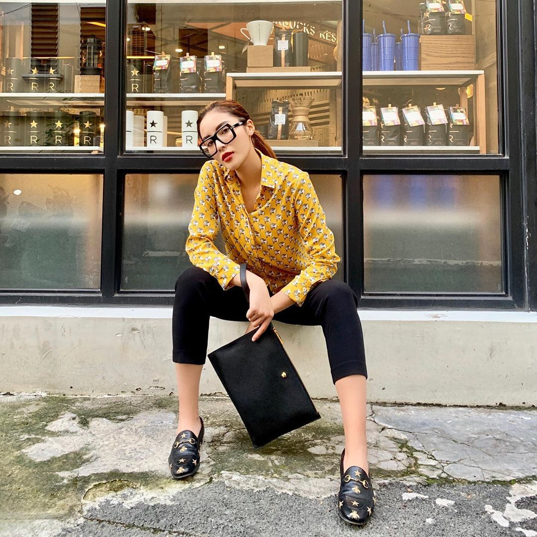5 gợi ý từ sao Việt giúp bạn hoàn thiện tủ giày 100% thời thượng-17