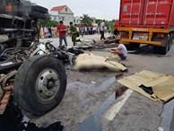 Khởi tố bị can, bắt tạm giam tài xế xe tải bị lật đè tử vong 5 người trên quốc lộ