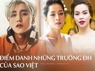 Top trường ĐH đào tạo ra nhiều sao Việt: Những sao nổi tiếng nhất lại học ở trường không liên quan gì nghệ thuật