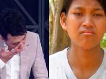 Trấn Thành khóc nức nở, tặng 10 triệu cho 3 chị em ruột mồ côi, chỉ được ăn cơm với muối