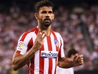 Real Madrid 3-7 Atletico Madrid: Diego Costa lập poker rồi nhận thẻ đỏ