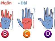 Sở hữu bàn tay trái dài hay ngắn cũng bộc lộ những phẩm chất tiềm ẩn tốt nhất trong bạn
