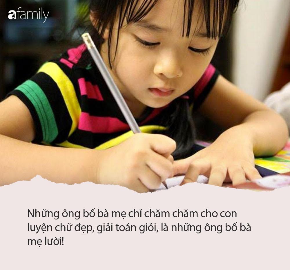 """Nhà báo Thu Hà: Con vào lớp 1, những ông bố bà mẹ chỉ chăm chăm cho con luyện chữ đẹp, giải toán giỏi, là những bố mẹ lười""""-2"""
