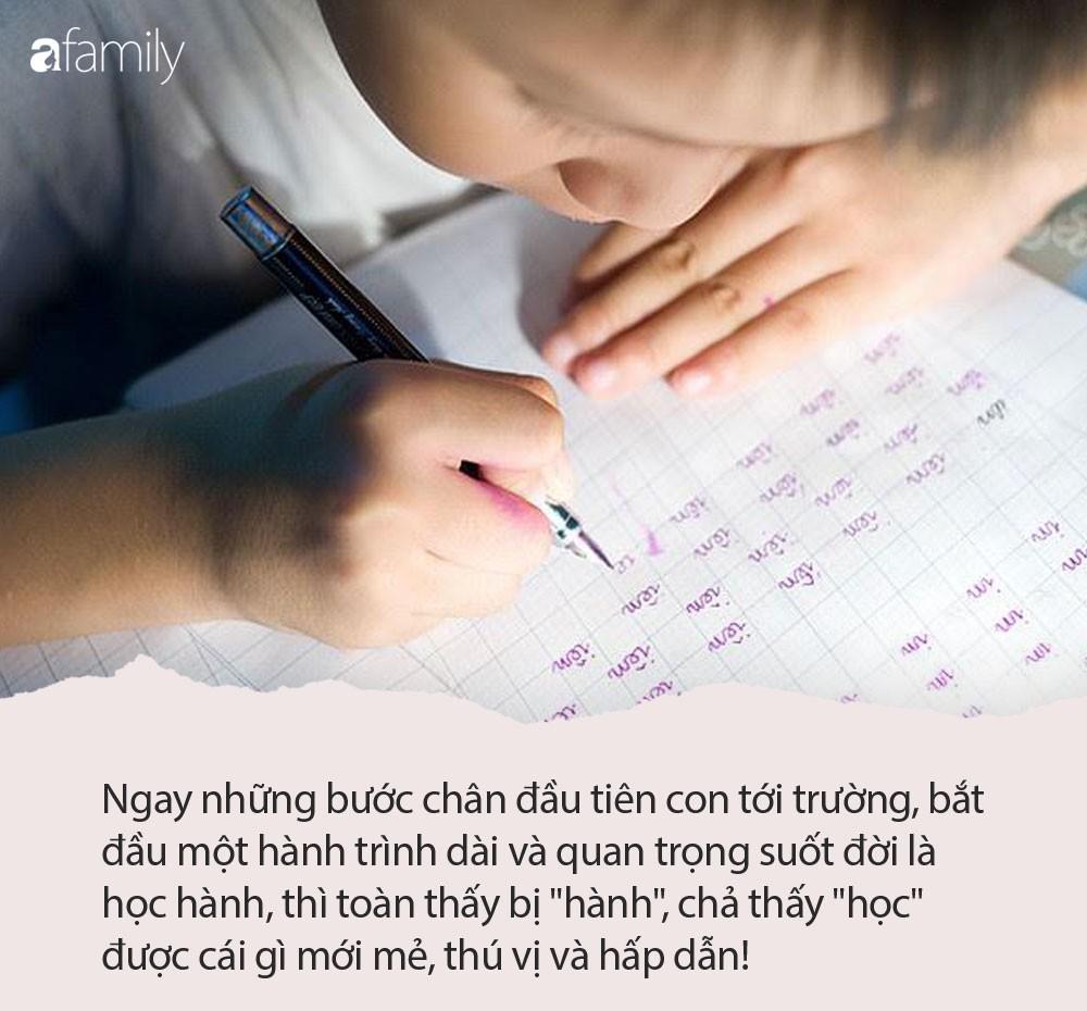 """Nhà báo Thu Hà: Con vào lớp 1, những ông bố bà mẹ chỉ chăm chăm cho con luyện chữ đẹp, giải toán giỏi, là những bố mẹ lười""""-3"""
