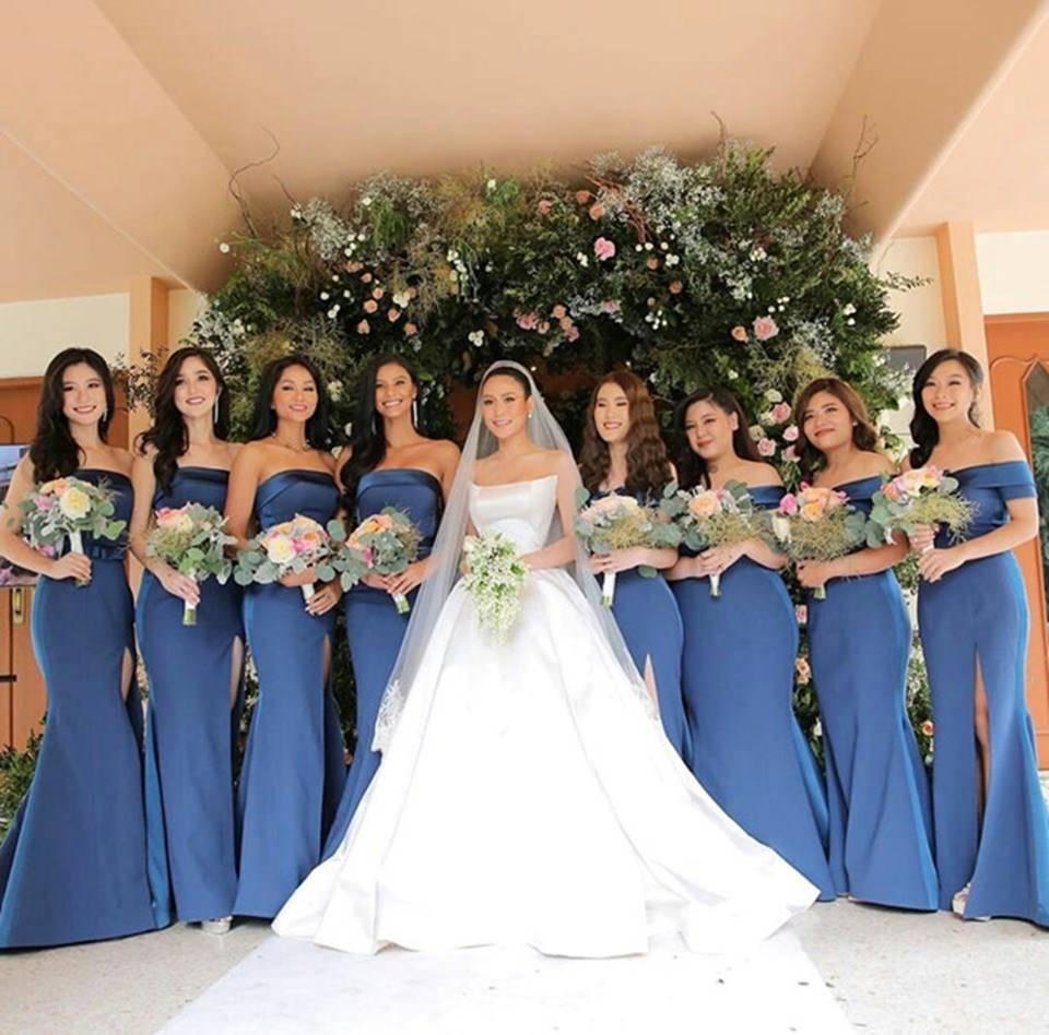 HHen Niê và dàn hoa hậu làm phù dâu trong lễ cưới mỹ nhân Thái Lan-1