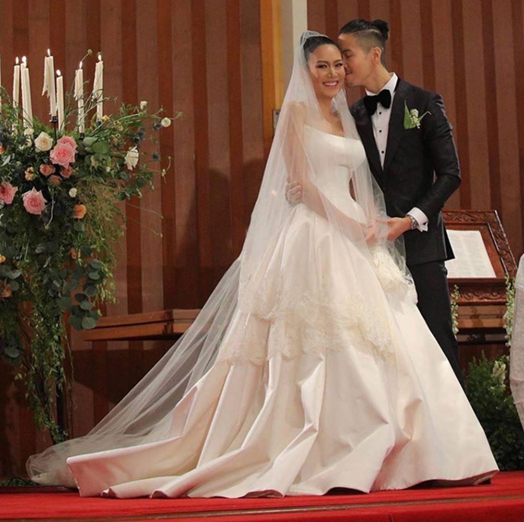 HHen Niê và dàn hoa hậu làm phù dâu trong lễ cưới mỹ nhân Thái Lan-3